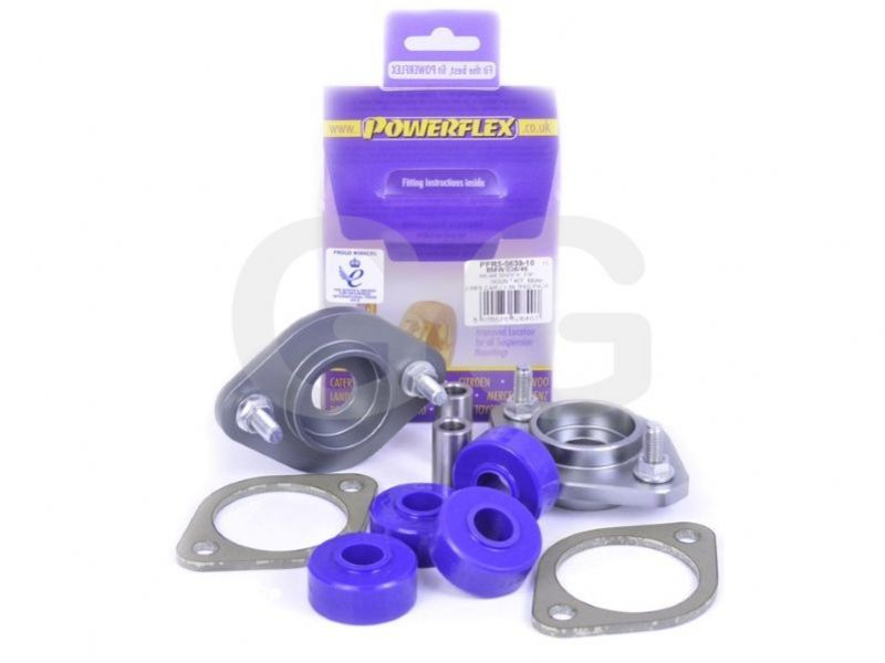 Powerflex Rear Shocker Top Mount Bracket & Bush 10mm BMW M3 E46 x2 Bushes Car Kit PFR5-5630-10